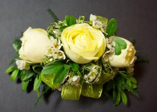 Three-Rose Corsage (1)