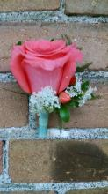 Medium Rose Boutonniere