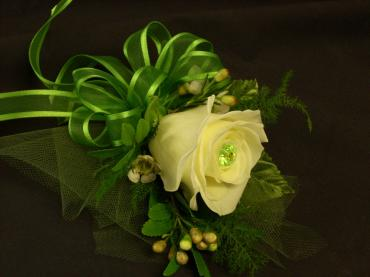 One Rose Corsage