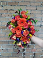 Sunset Bloom Bouquet