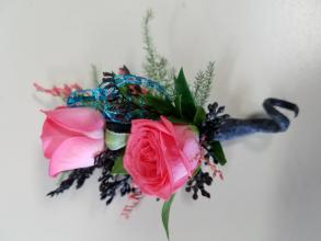 Two Rose Boutonniere (1)