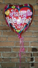 Valentines Day Mylar Balloon