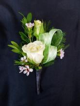 Two Rose Boutonniere (2)